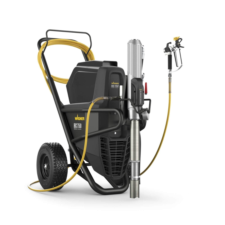 "HeavyCoat 750 E Spraypack / 230 V, debit material 6 l/min, duza max. 0,043"", motor electric 3,1 kW"