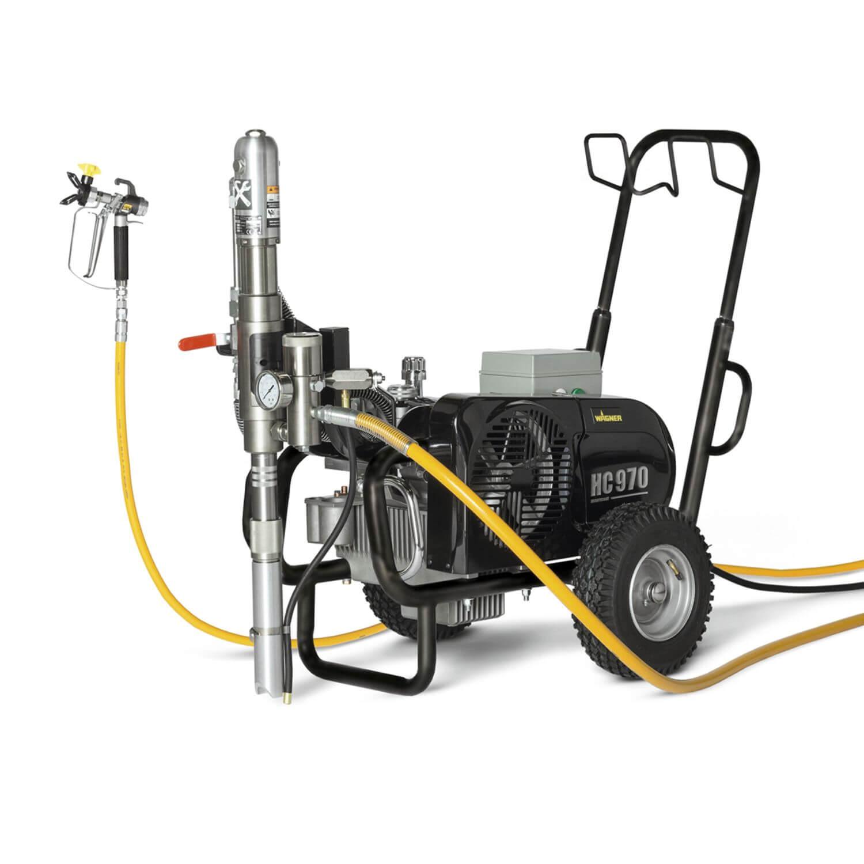 "HeavyCoat 970 E Spraypack/400V, debit material 10 l/min, duza max. 0,056"", motor electric 5.5 kW"