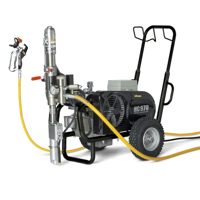 "HeavyCoat 970 E SSP Spraypack/400V, debit material 12 l/min, duza max. 0,056"", motor electric 5.5 kW"