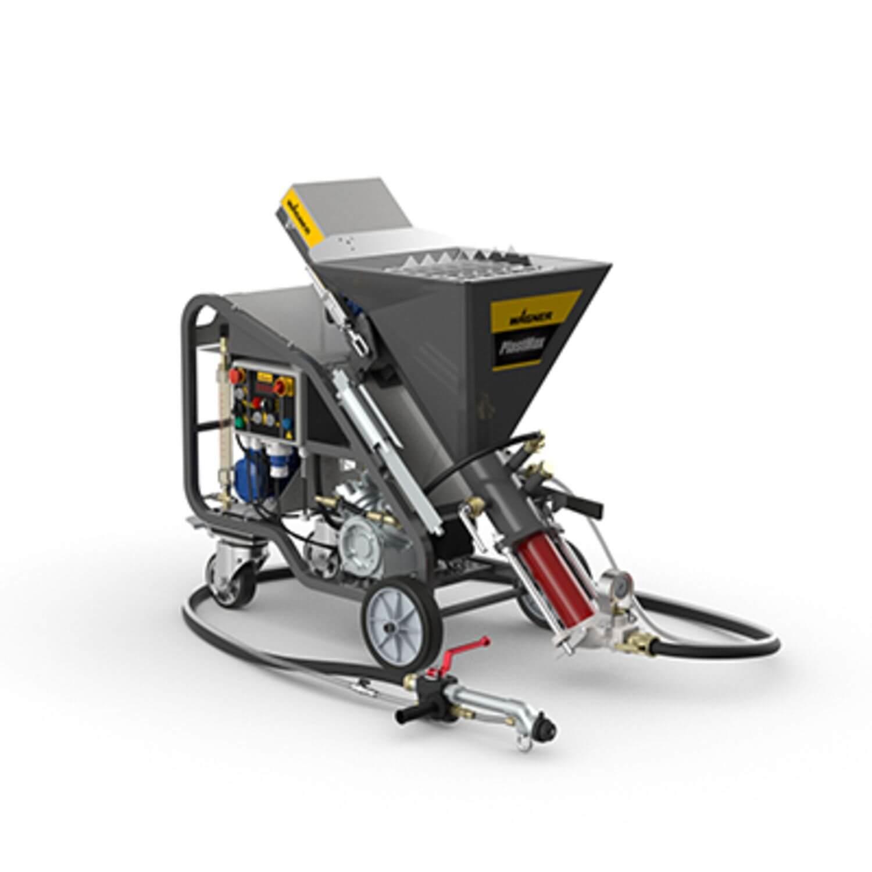 PlastMax Spraypack, debit material 15 l/min, motor electric 3.4 kW