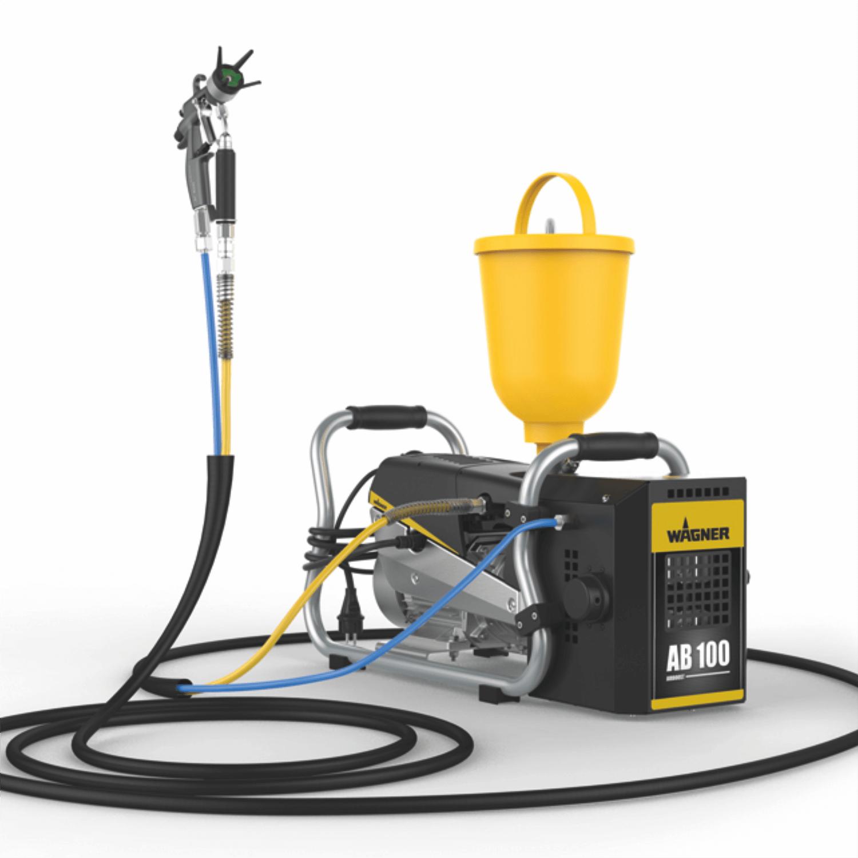 SuperFinish 23 Plus AirCoat – skid, debit material 2,6 l/min., duza max. 0.023″, motor electric 1,3 kW