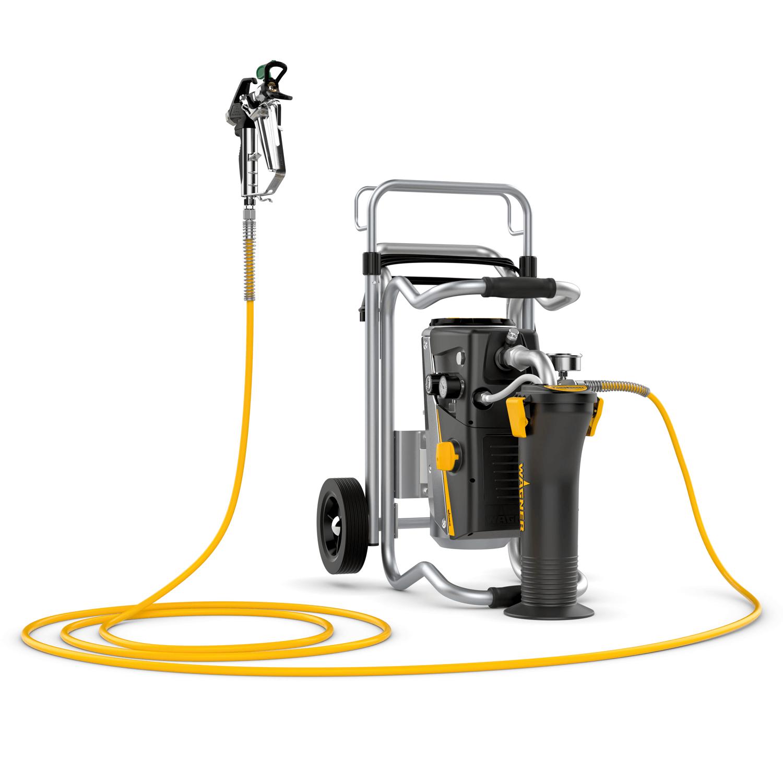SuperFinish 23 Plus HEA spraypack, debit material 2,6 l/min., duza max. 0.023″, motor electric 1,3 kW