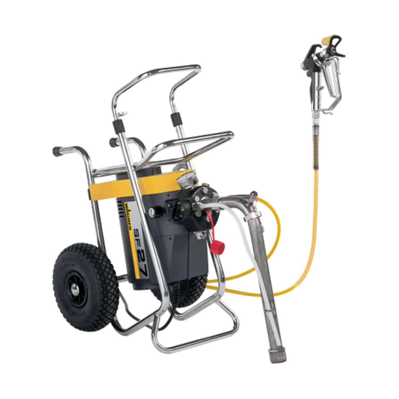 SuperFinish 27 Spraypack, debit material 3 l/min., duza max. 0.027″, motor electric 1,5 kW