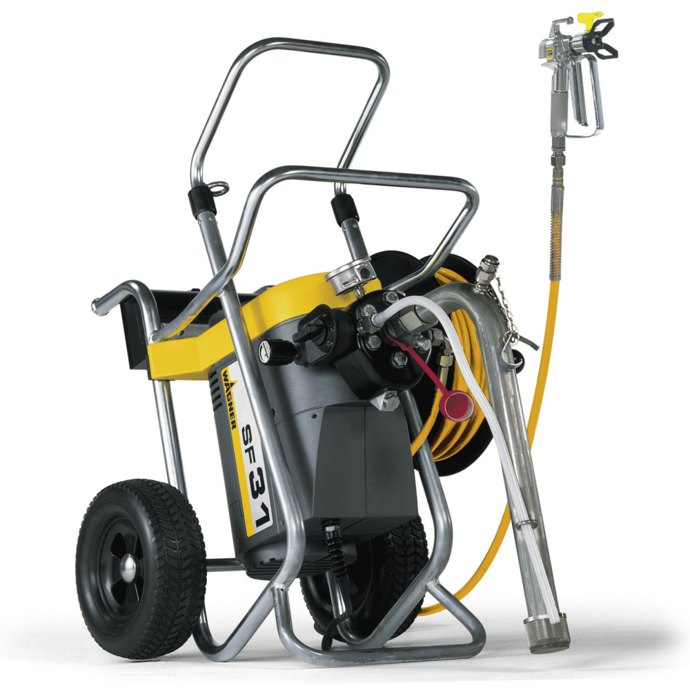 "SuperFinish 31 Spraypack, debit material 3,5 l/min., duza max. 0,031"", motor electric 1,7 kW"
