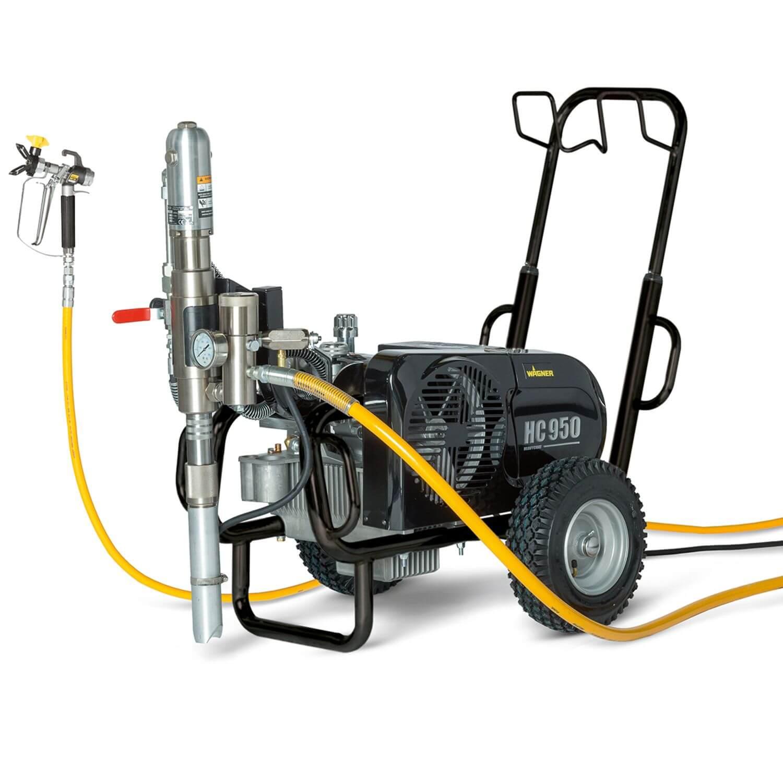 """HeavyCoat 950 E Spraypack, debit material 6.6 l/min, duza max. 0.052"""", motor electric 3.6 kW"""