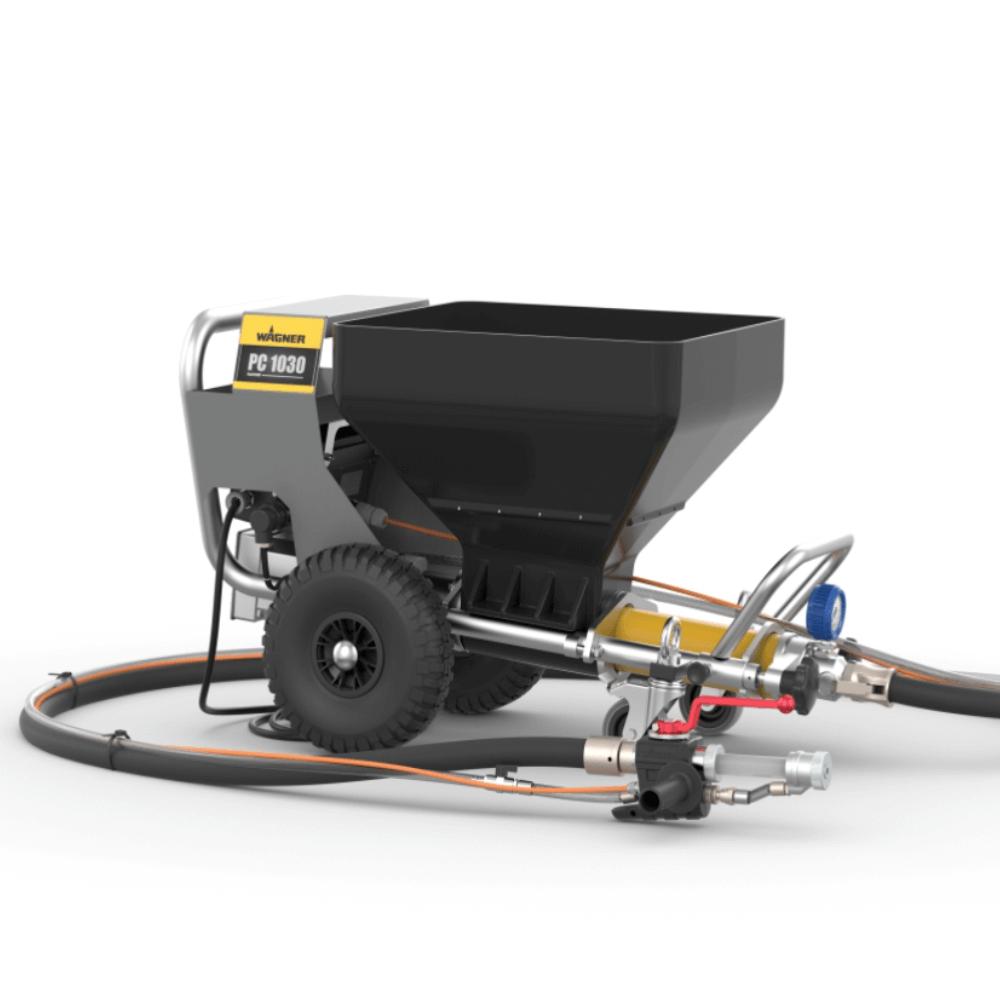 PlastCoat 1030E Spraypack, debit material 15/20/25 l/min., motor electric 2,2 kW