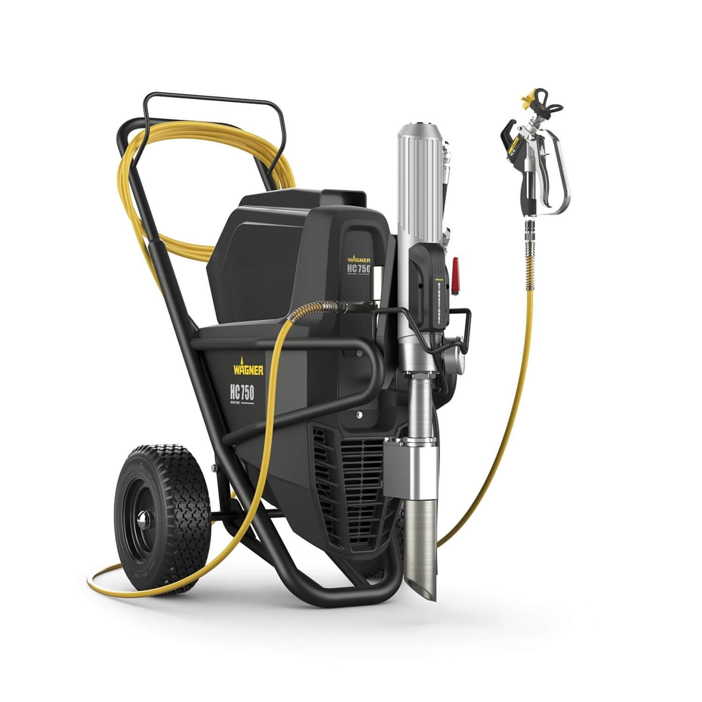 "HeavyCoat 750E SSP Spraypack / 230 V, debit material 6 l/min, duza max. 0,043"", motor electric 3,1 kW"