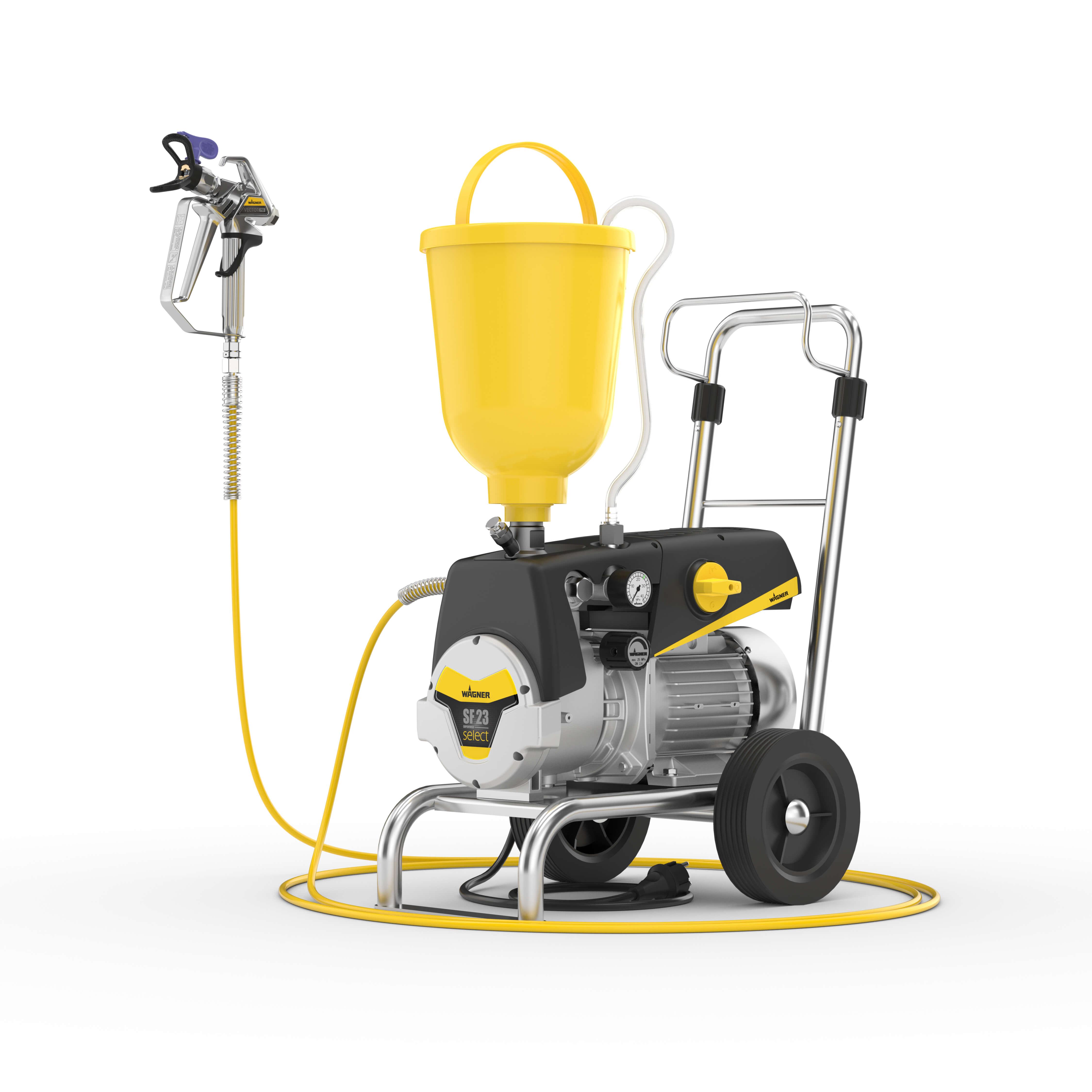SuperFinish 23 Select Basic cart, motor 230 V, 1.3 kW – doar pompa